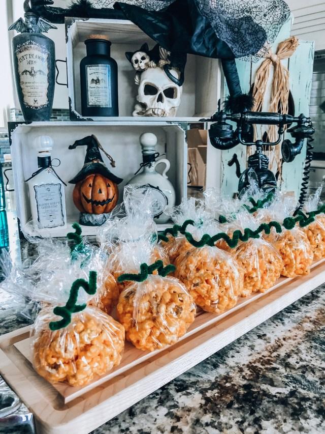 Adams' Family Fall Recipes: Pumpkin Popcorn Balls