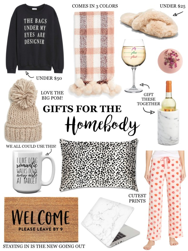 Gifts for the Homebody, Cozy gifts