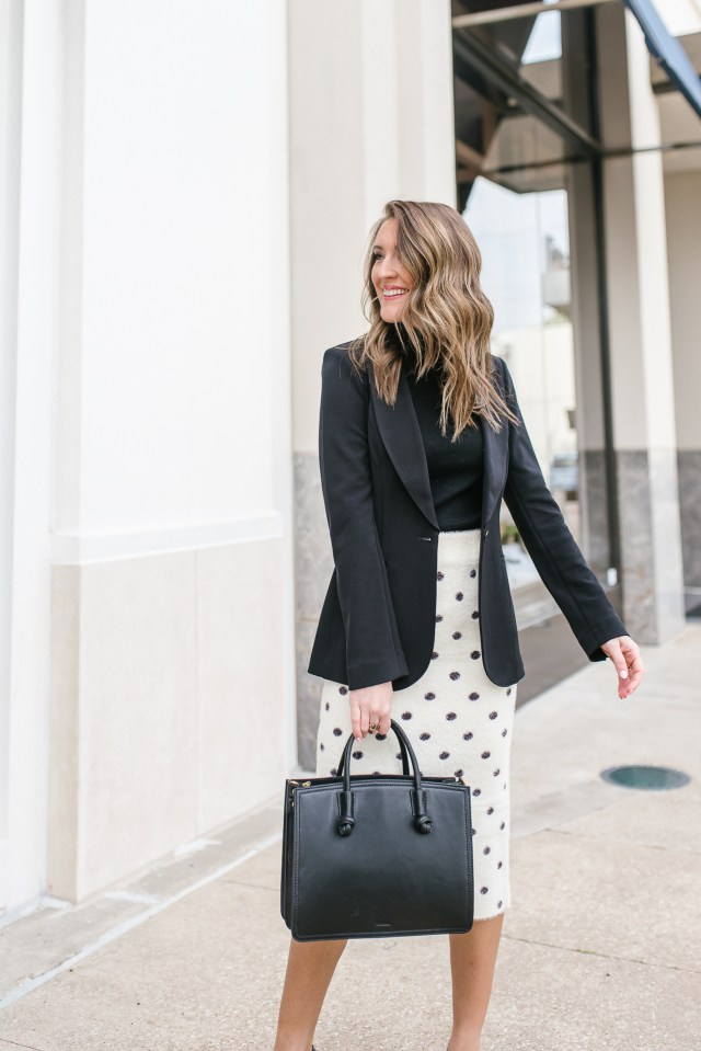 Work Wear Wednesday Midi Skirt