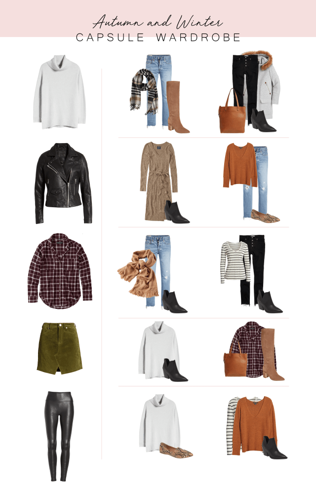 Autumn and Winter Capsule Wardrobe