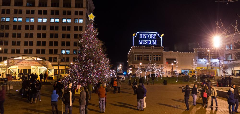 mayor s tree lighting ceremony an