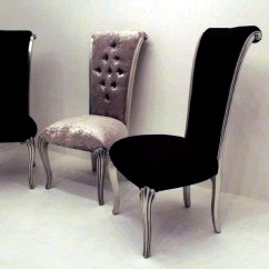 Velvet Dining Room Chairs Uk Unique Baby Shower Crushed Home Design Ideas Black