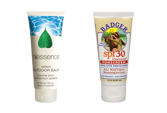 Miessence Outdoor Balm and Badger SPF30