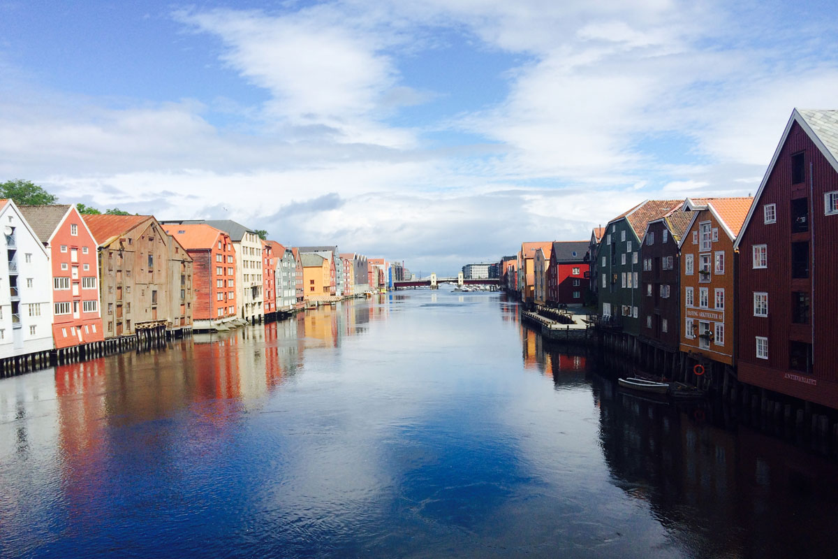 Trondheim Norway Summer 2015