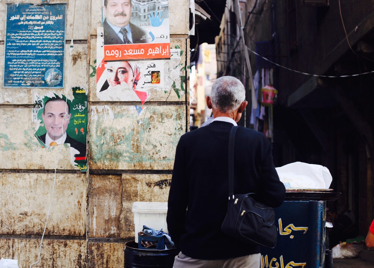 Man in Alexandria Egypt It's All Well + Good Magazine
