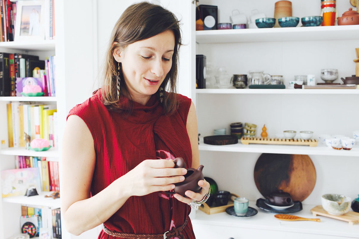 Talking Teapots with Tea Sommelier Anne Carole Chaumet