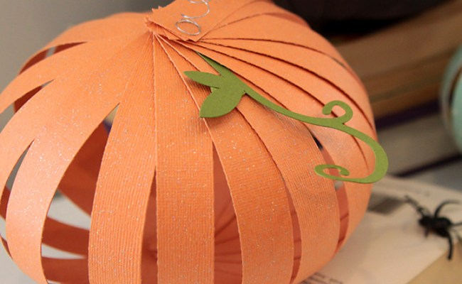 How To Make Paper Pumpkins Fun Easy Halloween Kids