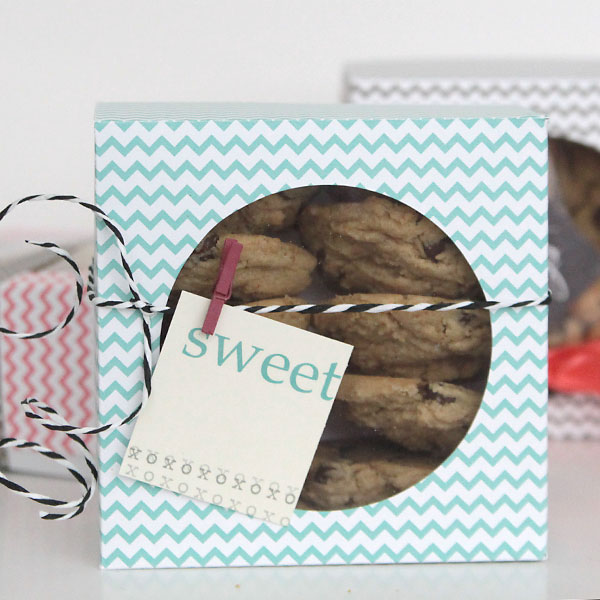 Easy DIY Folded Paper Cookie Amp Treat Gift Box Tutorial