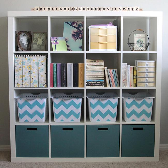 pretty office  craft supplies organization  Its Always