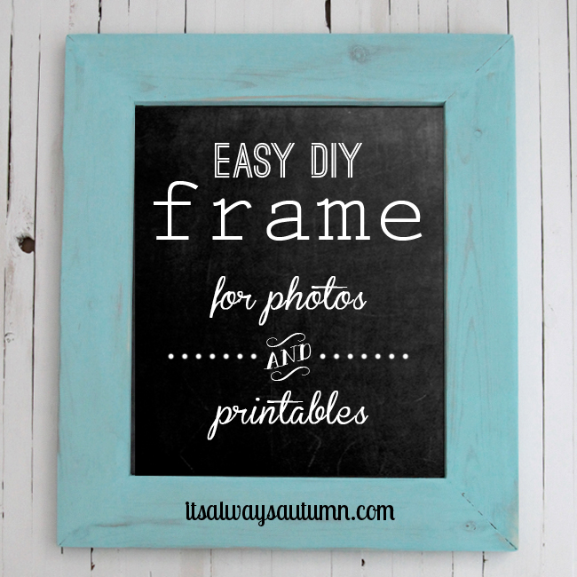 build picture frame wood