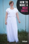 Easy Maxi Dress Sewing Patterns