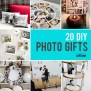 20 Fantastic Diy Photo Gifts Perfect For Mother S Day Or