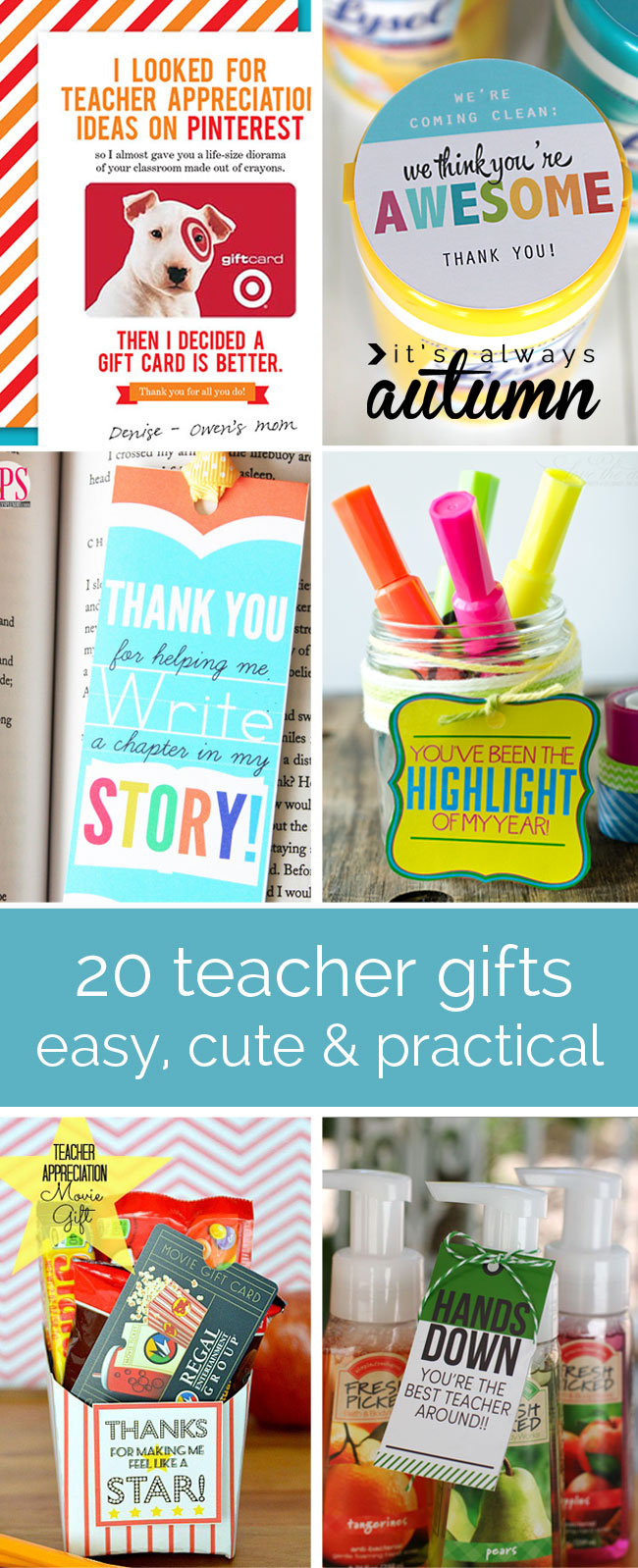 inexpensive appreciation gifts for