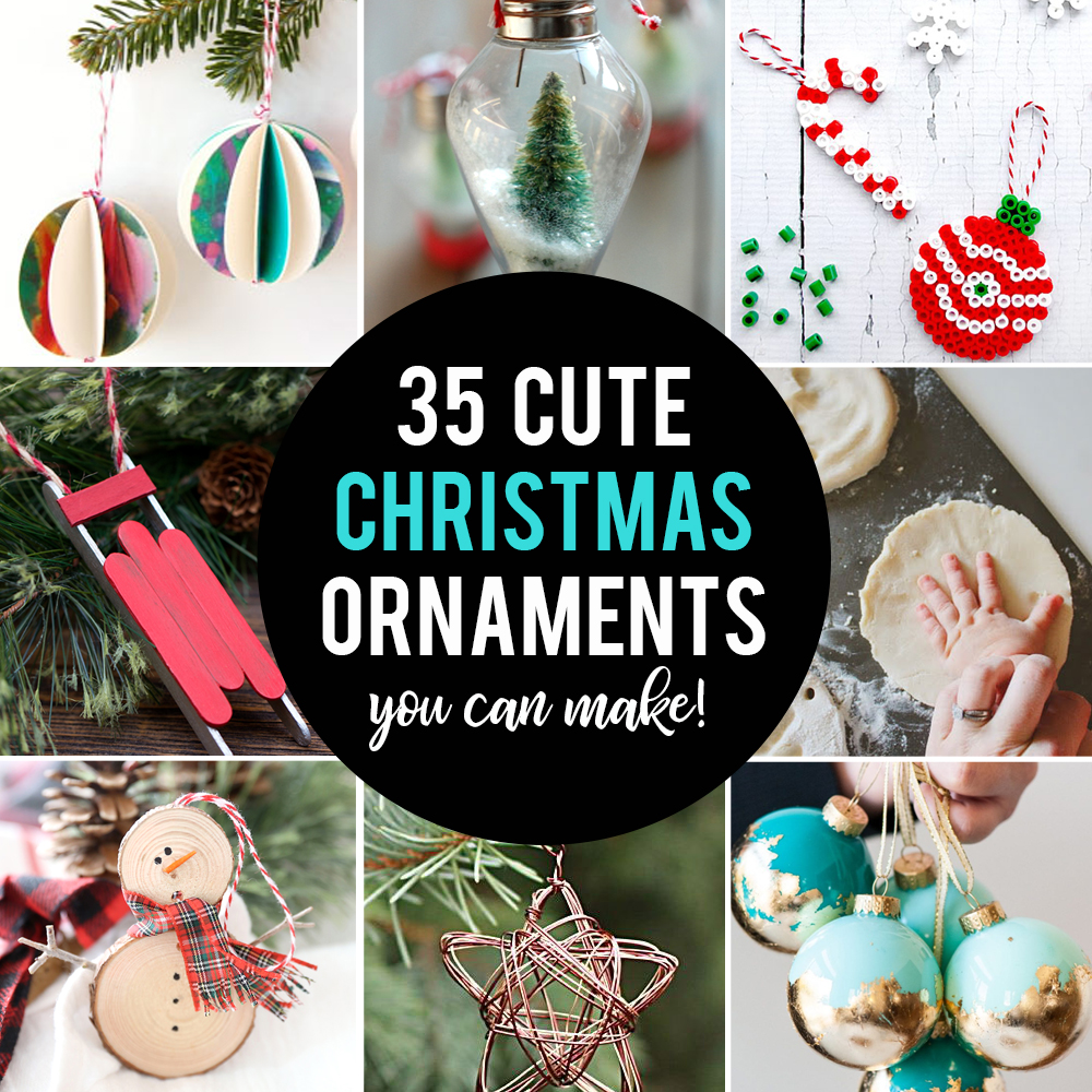 35 Beautiful Diy Handmade Christmas Ornaments It S Always Autumn