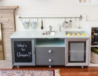 20 coolest DIY play kitchen tutorials - It's Always Autumn