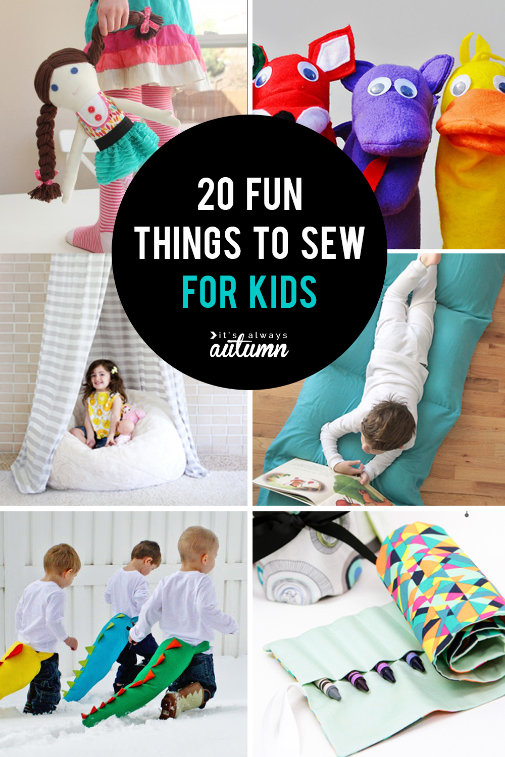 25 coolest things to sew for kids DIY gift ideas  Its