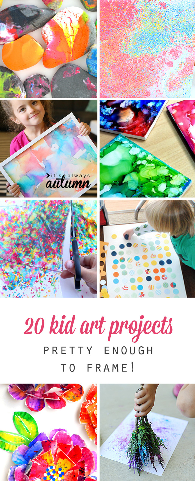 20 Kid Art Projects Pretty Enough To Frame Its Always