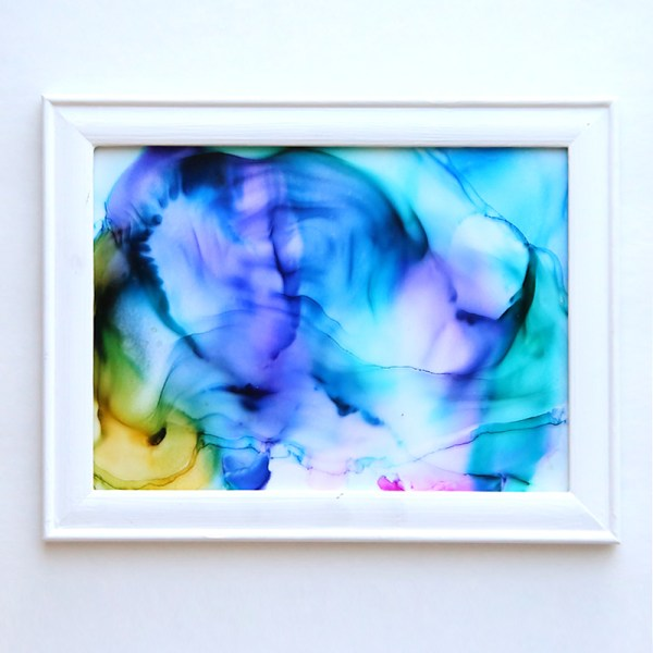 Alcohol Ink Art Projects Easy