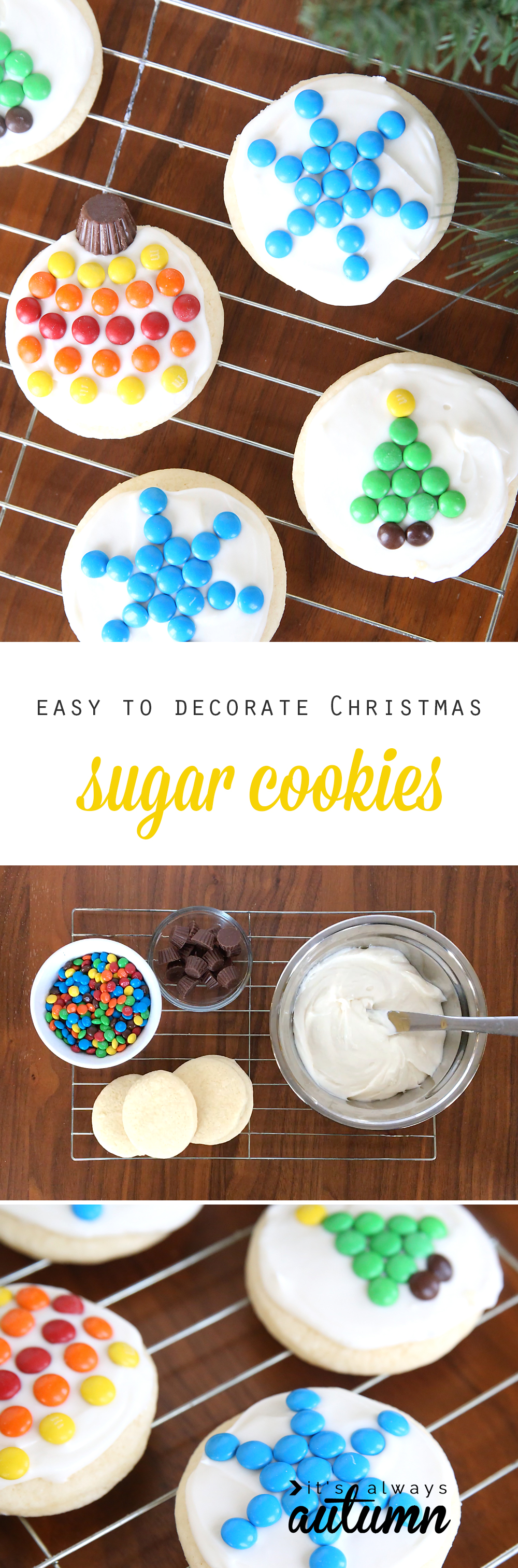 Sugar Cookies For Christmas Decorating