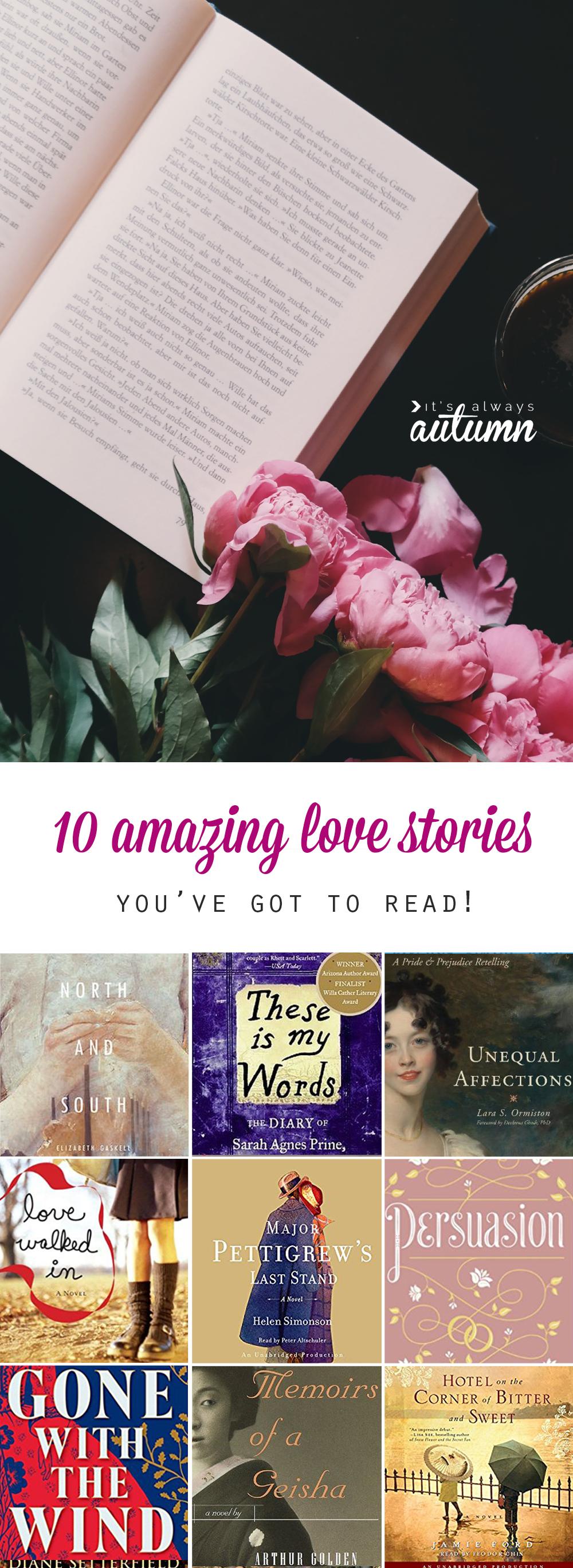 10 fantastic love stories