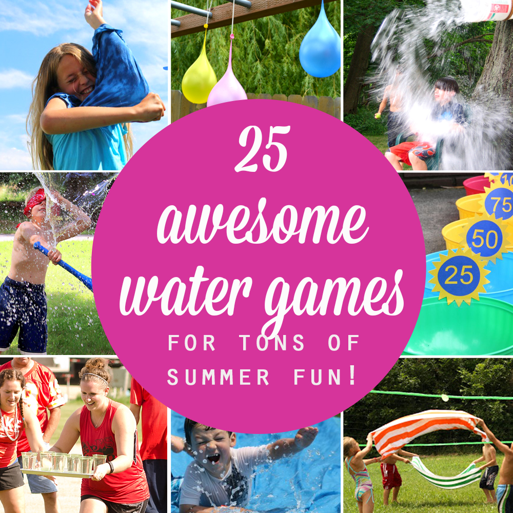 25 water games your