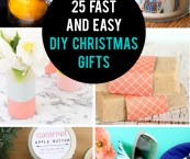 making homemade christmas gifts
