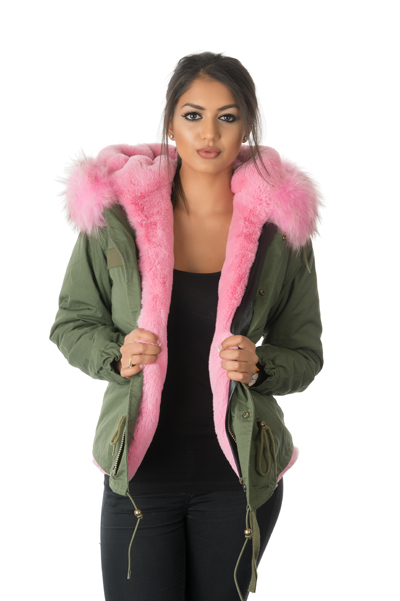 Stonetail Luxury Fur Parka Coats