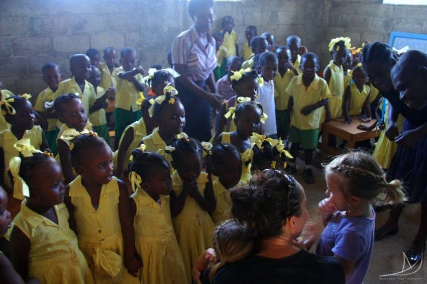 Travelling With Our Girls In Haiti