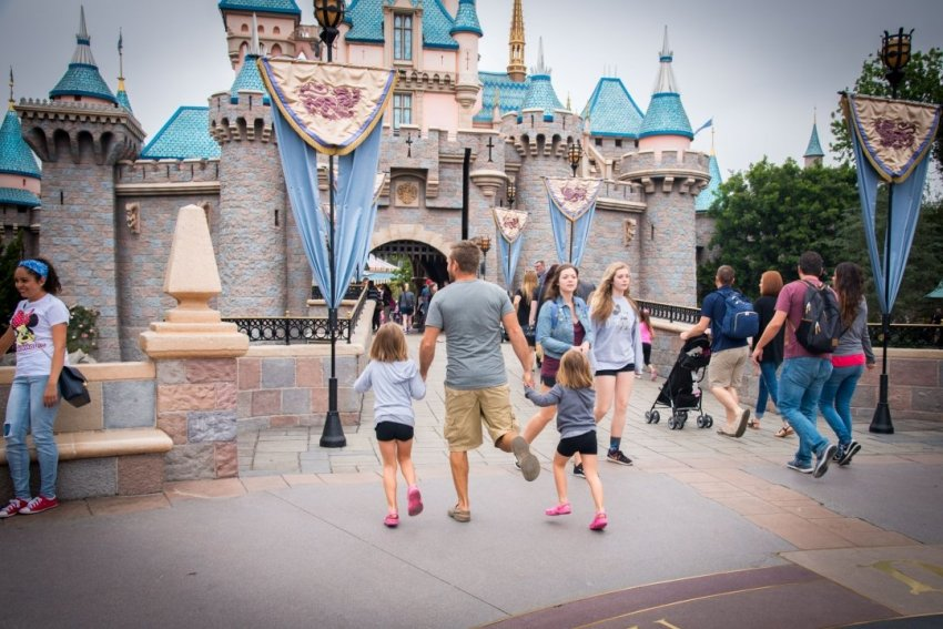 One day in Disneyland!