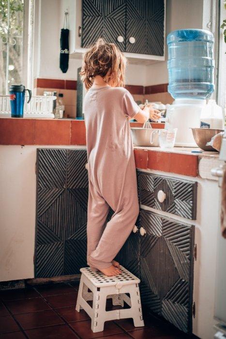 Ellia cooking