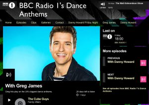 Greg James BBC Radio One Dance Anthems Cube Guys Family Affair