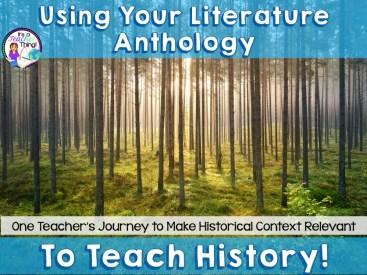 Teaching History Through Literature