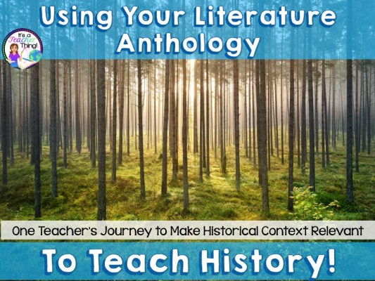 Teaching History Through Literature