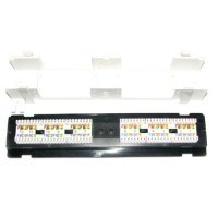 LinkBasic Cat6 12 Port UTP Wall Mounted Patch panel