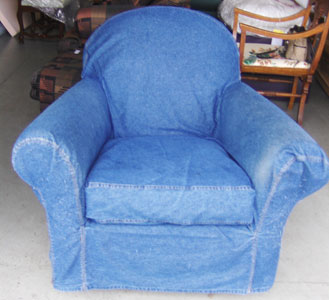 rocking chair slipcovers for nursery portable umbrella set a savvy slipcover the   it's bout time upholstery