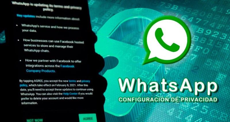 ITSCA - Configuracion de privacidad de whatsapp