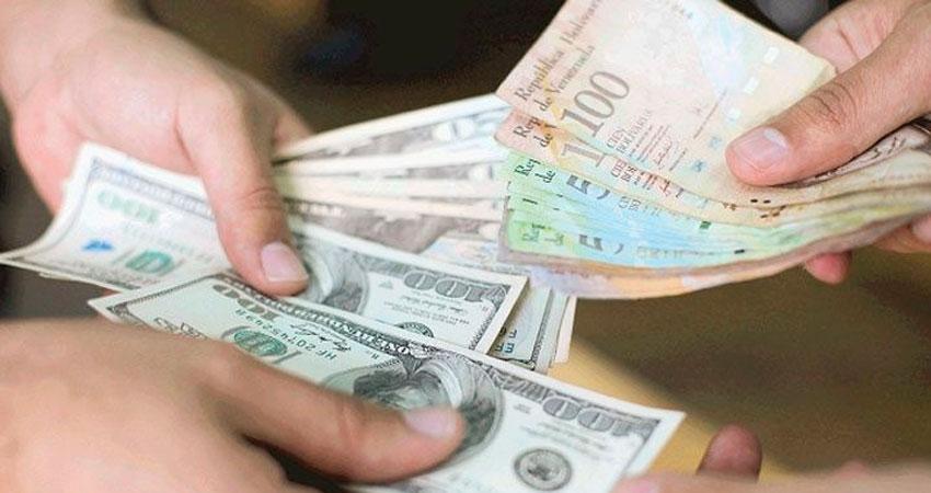 Pagar en Bolivares o Dolares