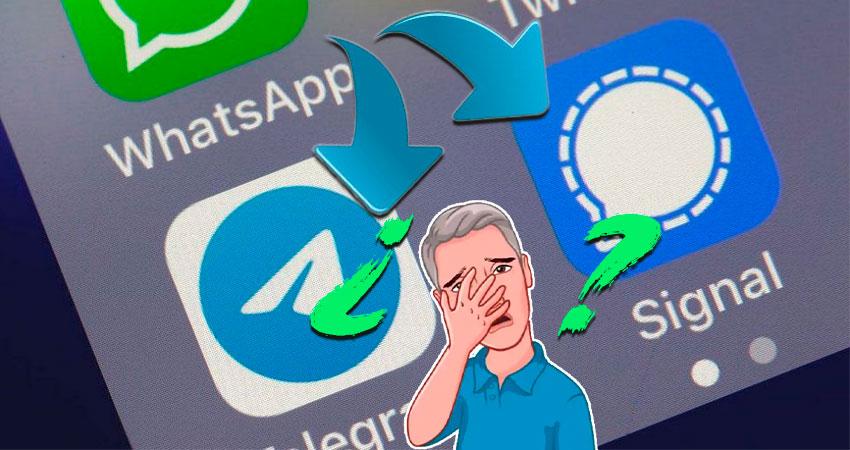 Exodo de Whatsapp por cambio en las politicas de privacidad