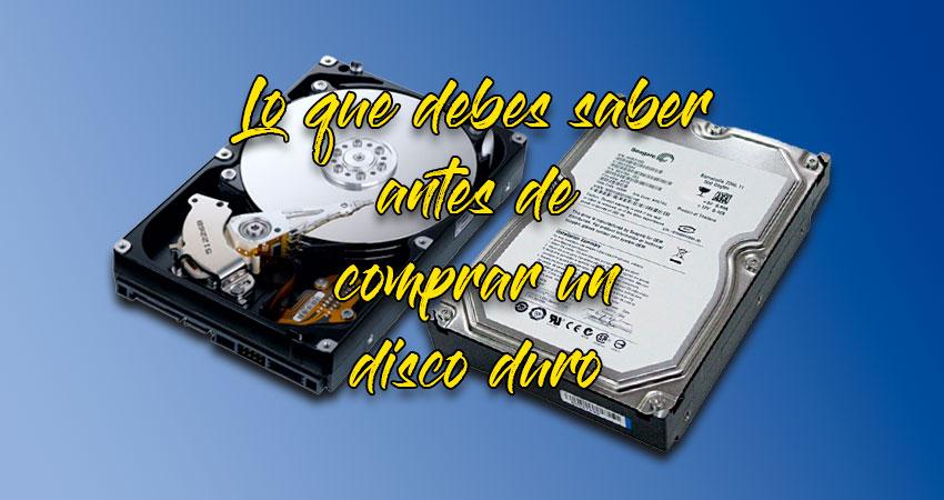 Cuidados al comprar un disco duro