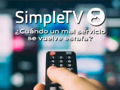 SimpleTV Cuando un mal servicio se vuelve estafa