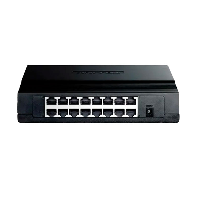 Switch Tp-link 16 Puertos 10_100mbps Desktop Tl-SF1016D