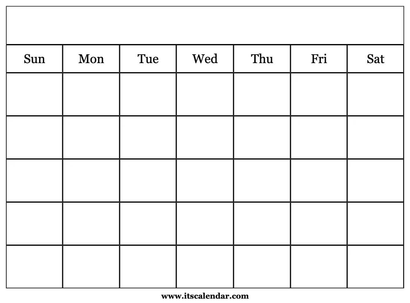 Adding more exercise to your routine may help boost your memory, accordin. Printable Blank Calendar