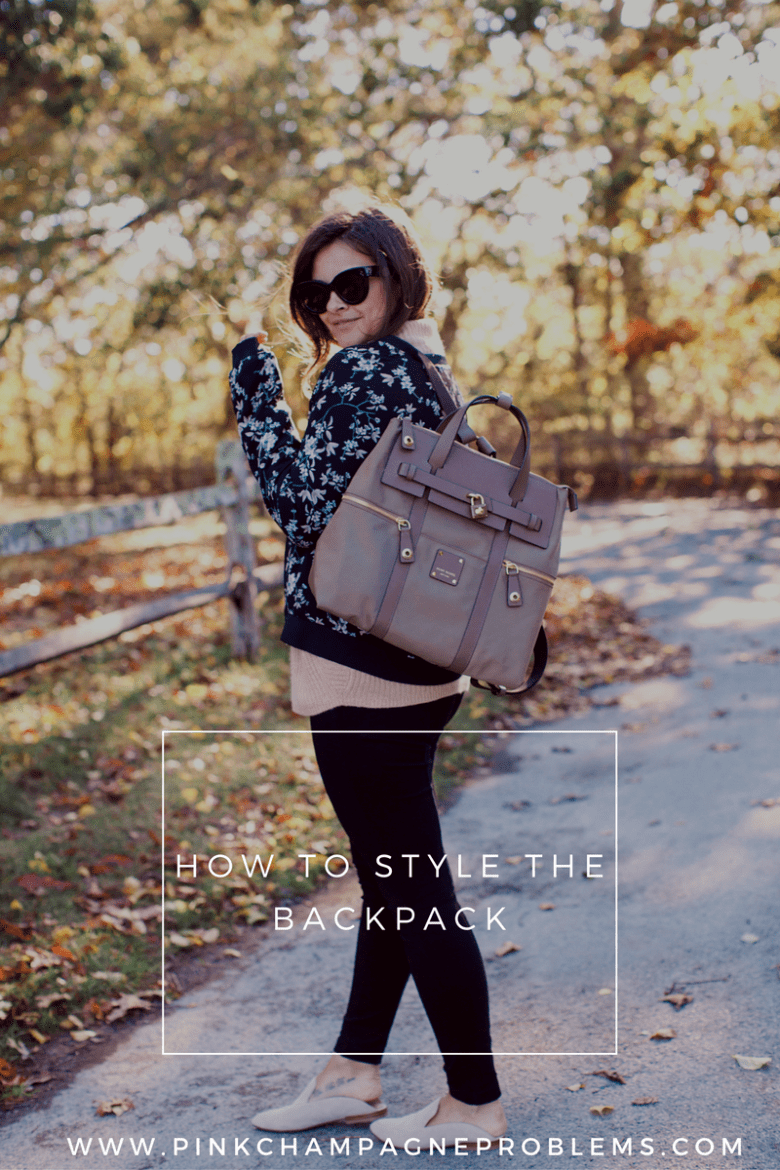 Ways To Style A Backpack
