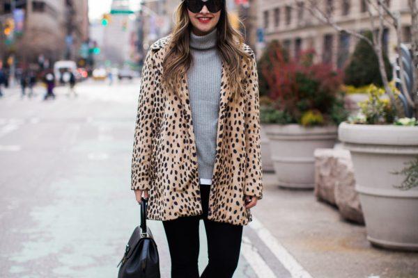 Leopard Coat Outfit Ideas