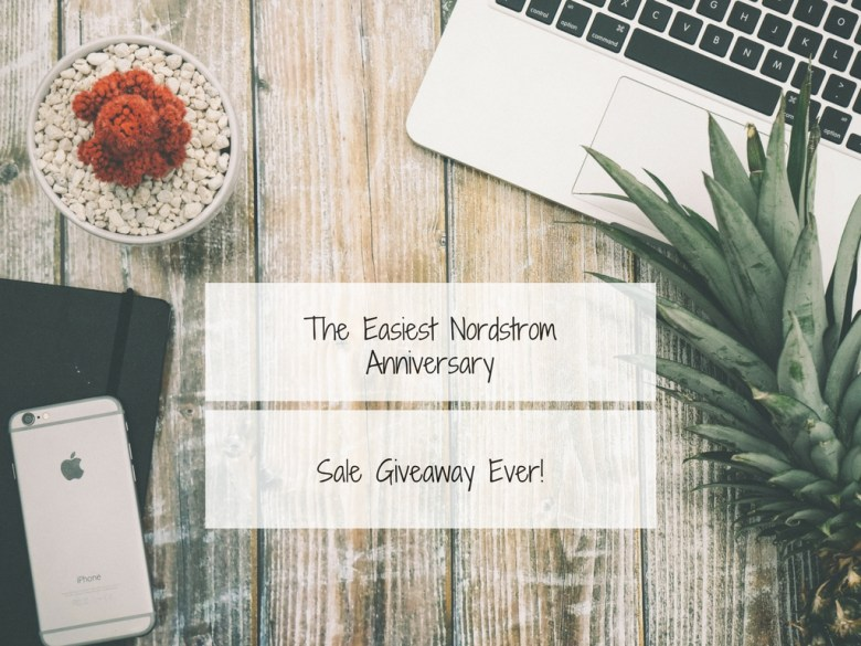 The Easiest Nordstrom Anniversary Sale Giveaway EVER by popular NYC blogger Pink Champagne Problems