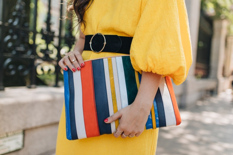 Rent The Runway Unlimited Subscription: Is It Worth It? Mara Hoffman Yellow Dress