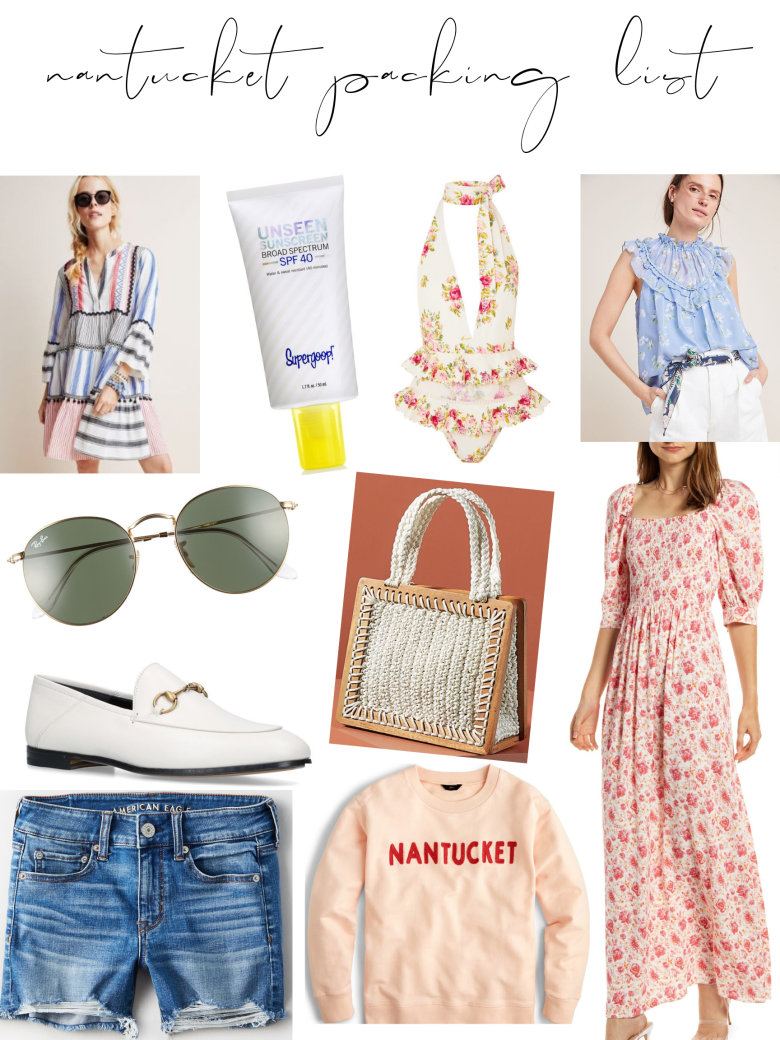 nantucket packing list