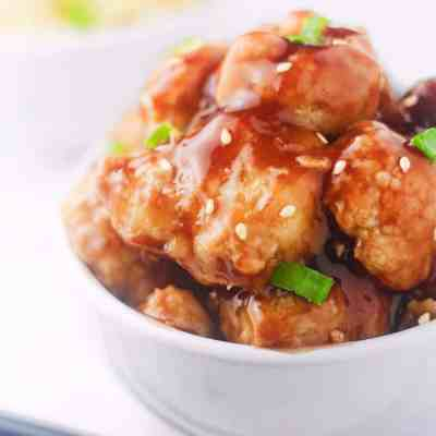 BAKED HONEY GARLIC CAULIFLOWER
