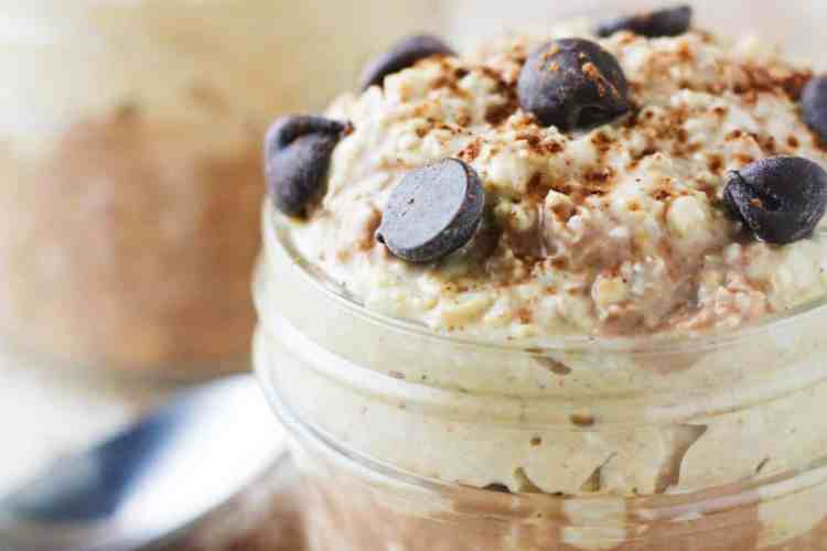 PB Chocolate Chip Overnight Oats