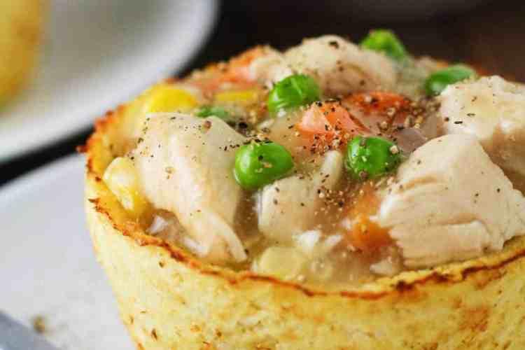 Low Carb Cauliflower Pot Pies